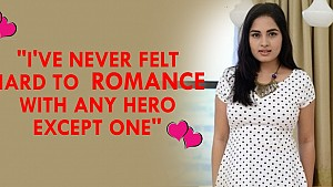 I've never felt hard to romance with any hero except one - Srushti Dange